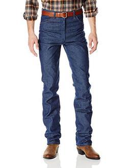Wrangler Apparel Mens Slim Fit Cowboy Cut Jeans 33x38 Indigo