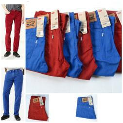 Authentic Men Levis 514 slim fit straight Jeans, NWT, Size v