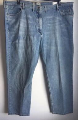 """Wrangler Authentic Men's Jeans Classic 50"""" x 30"""" Denim Casua"""
