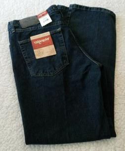 Wrangler Authentic Men's Jeans 34x30  Regular Fit Blue Den