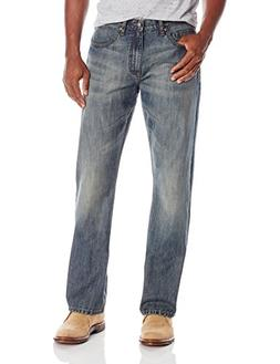 Wrangler Authentics Men's Premium Relaxed Fit Boot Cut Jean,