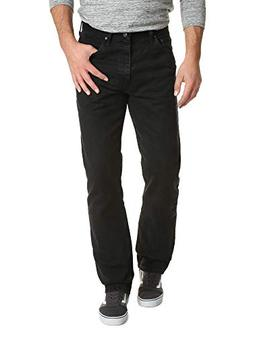Wrangler Authentics Men's Classic Relaxed Fit Jean, Black, 3