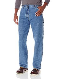Wrangler Men's Authentics Classic Carpenter Jean, Antique St