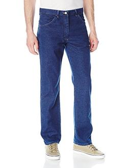Wrangler Men's Authentics Classic Flex Jean, Dark Wash, 42x2