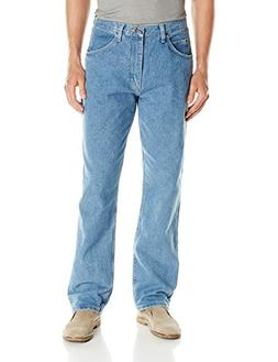 Wrangler Authentics Men's Classic Relaxed Fit Jean, Stone Bl