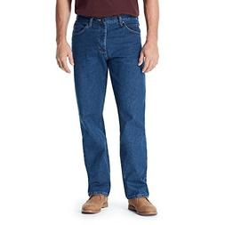 Wrangler Authentics Men's Classic Relaxed Fit Jean, Dark Sto