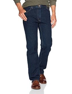 Wrangler Men's Regular Fit Comfort Flex Waist Jean, Dark I