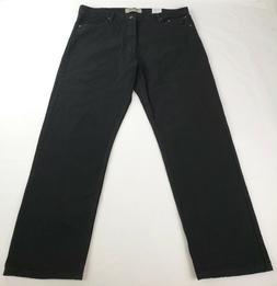 Wrangler Authentics Men's Classic Relaxed Fit Jean, Black, 4