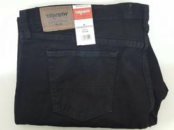 Wrangler Authentics Men's Classic Relaxed Fit Jean Black 46x