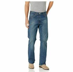Wrangler Authentics Men's 42 x 30 Relaxed Fit Boot Cut Jea