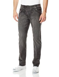 "prAna Men's Axiom 32"" Inseam Jeans, Charcoal Wash, Size 35"