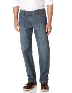 prAna Men's Axiom 32-Inch Inseam Jeans, Antique Blue, 33