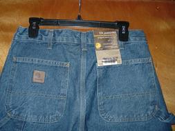 Carhartt B237 Signature Denim Dungarees Carpenter Jeans. Men