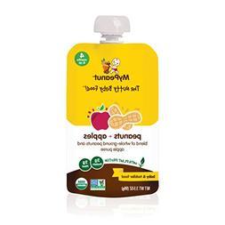 MyPeanut Baby Food, Organic Stage 1 Peanut and Apple Puree f
