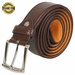 Leatherboss Genuine Leather Men Stylish Casual Jeans Belt ,
