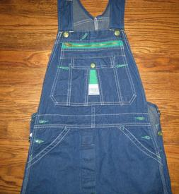 Liberty Bib Denim Blue Jeans Overalls Stonewashed Blue Size