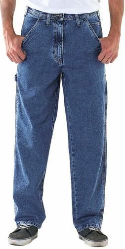Big & Tall 4U Basic Men's Carpenter Denim Jeans Pants Sizes