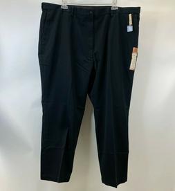 Haggar Big & Tall Comfort Waist Classic Fit W2W Black No Iro