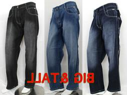 Men Denim Jean Pants Southpole 4180 Relaxed Fit Big and Tall