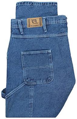Full Blue Big Men's Carpenter Jeans 596A Medium Wash 58 X 32