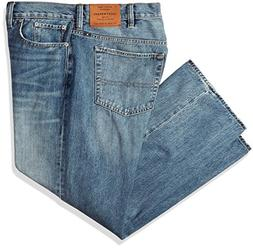 Lucky Brand Men's Big and Tall 181 Relaxed Straight Jean, Bl