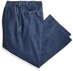 Haggar Men's Big and Tall B&t Stretch Denim Expandable Class
