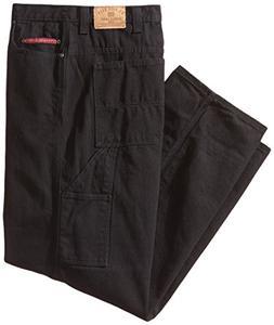 U.S. Polo Assn.. Men's Big-Tall Carpenter Jean, Black, 44x34