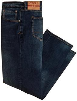 IZOD Men's Big & Tall Comfort Stretch Relaxed Fit Jean, Lexi