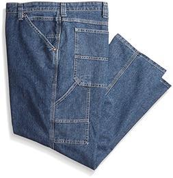 Lee Men's Big-Tall Custom Fit Carpenter Jean, Original Stone