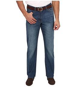 IZOD Men's Big & Tall Relaxed Fit Jean in Dark Vintage Dark
