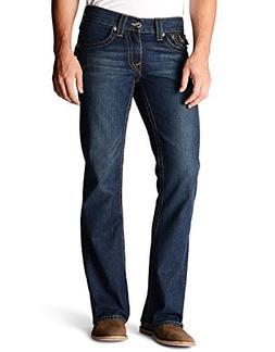 True Religion Men's Billy Bootcut Jean in Monte, Monte, 29