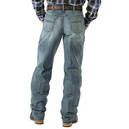 Cinch Men's Label Medium Wash Jeans Big and Tall Med Stone 3