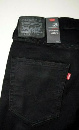 Black Levi's  511 SLIM Fit STRETCH Jeans 3M SCOTCHLITE