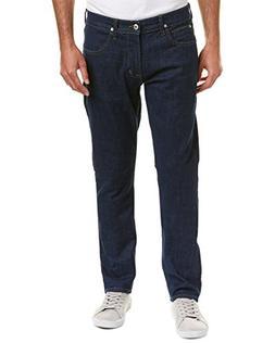 Hudson Jeans Mens Blake Prof Slim Straight Leg, 31, Blue