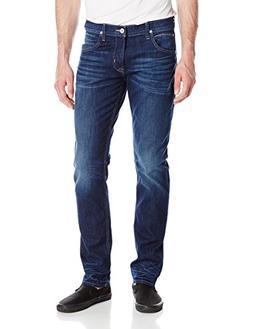 Hudson Jeans Men's Blake Slim Straight Jeans, Ringside, 34