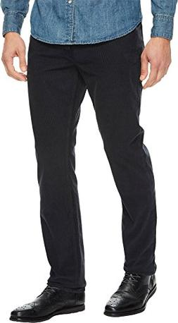 Hudson Jeans Men's Blake Slim Straight Corduroy, Lead, 30