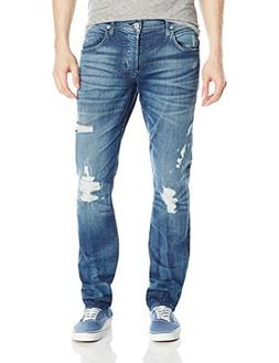 Hudson Jeans Men's Blake Slim Straight Leg Ripped Jean in, H