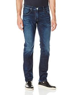 Hudson Jeans Men's Blake Slim Straight Zip Fly, Bleak, 29