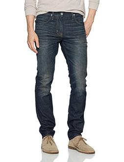 Hudson Jeans Men's Blake Slim Straight Zip Fly Jeans, Crushe