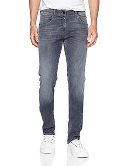 Hudson Jeans Men's Blake Slim Straight Zip Fly, Silver Lake,
