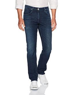 Hudson Jeans Men's Blake Slim Straight Zip Fly Jeans, Regret