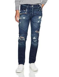 Hudson Jeans Men's Blinder Biker Moto Jeans, Ritner, 36