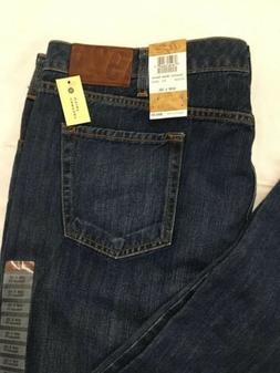Haggar Blue Jeans Mens 40x32 Relaxed Fit Straight Leg Comfor