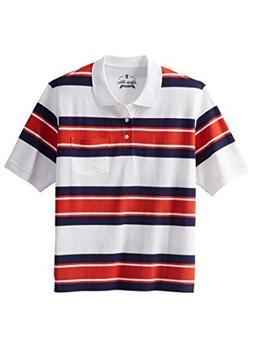 Liberty Blues Men's Big & Tall Classic Fit Stretch Polo, Bri