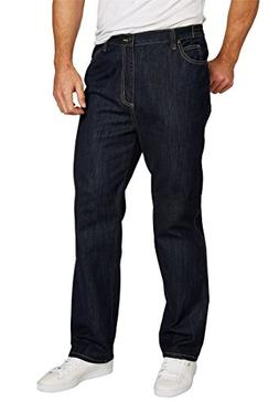 Liberty Blues Men's Big & Tall Loose Fit Side Elastic 5-Pock