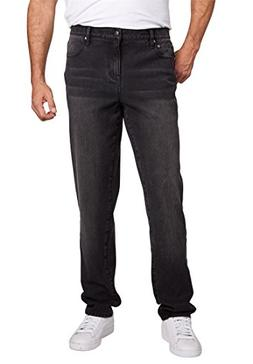 Liberty Blues Men's Big & Tall Relaxed Fit 5-Pocket Stretch