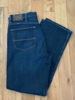 BRAND NEW Wrangler Men's Relaxed Fit Flex Jeans  Size 34X32