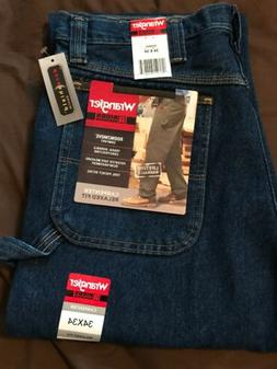 Brand new mens Wrangler Riggs Carpenter jeans, size 34x34 Fa