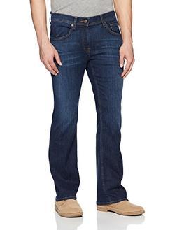 7 For All Mankind Men's Brett Slim Bootcut Jean, Monument, 3