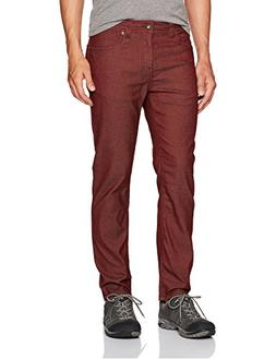 "prAna Men's Bridger Jean 34"" Inseam Pants, Raisin, Size 30"